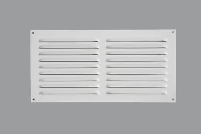 quincaillerie feraud fiche article grille d 39 aeration alu blanc. Black Bedroom Furniture Sets. Home Design Ideas